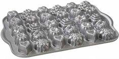 NordicWare Forma na mini tortičky a čokolády, plát s 30 formičkami