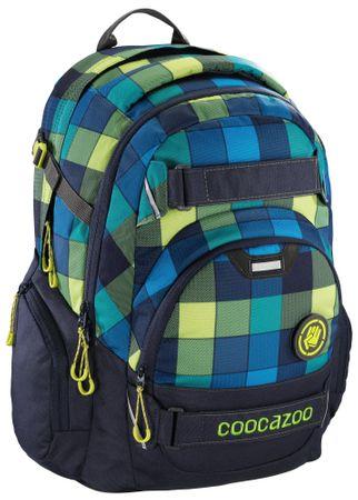 CoocaZoo CarryLarry2 Lime District Iskolatáska