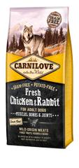 Carnilove sucha karma dla psów Dog Fresh Chicken & Rabbit 12kg