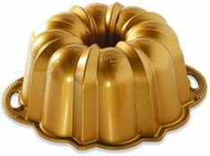 NordicWare Forma na bábovku Anniversary malá, zlatá