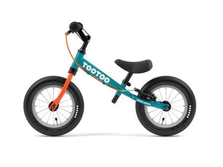 Yedoo TooToo pedál nélküli gyerekkerékpár Tealblue