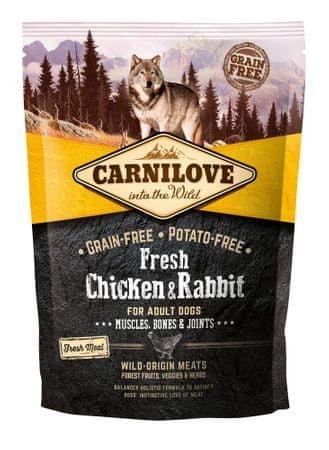 Carnilove sucha karma dla psów Dog Fresh Chicken & Rabbit 1,5kg