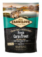 Carnilove sucha karma dla psów Dog Fresh Carp & Trout 1,5kg