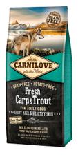 Carnilove sucha karma dla psów Dog Fresh Carp & Trout 12kg
