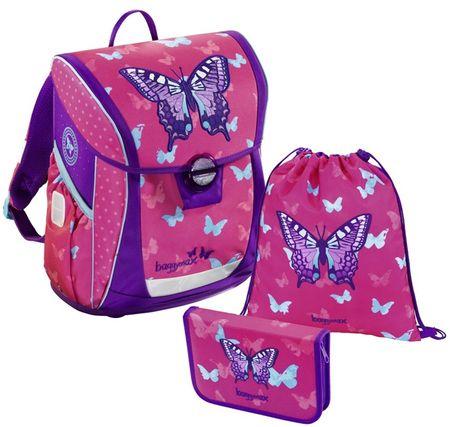 HAMA Školská 3-dielna súprava, Baggymax Fabby Motýľ