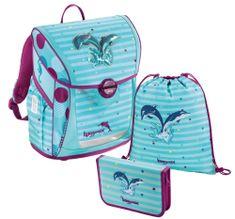 HAMA Zestaw szkolny 3-częściowy, Baggymax Fabby delfiny