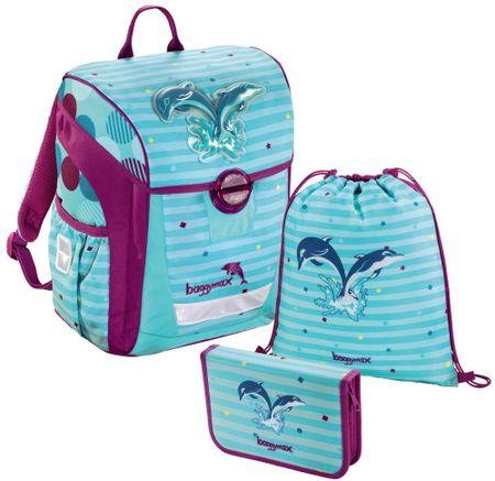 HAMA Zestaw szkolny 3-częściowy, Baggymax Trikky delfin