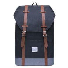 Kaukko vintage ruksak Cozy Coala, crni