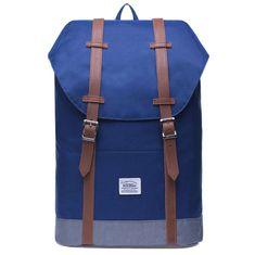 Kaukko vintage ruksak Cozy Coala, tamno plavi