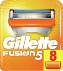 Gillette Fusion náhradné hlavice 8 ks