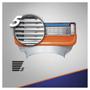 3 - Gillette Fusion náhradné hlavice 4 ks