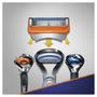 4 - Gillette Fusion náhradné hlavice 4 ks