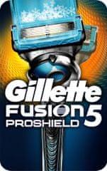 Gillette ProShield Flexball strojček + 1 náhradná hlavica Chill