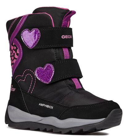 c996ac489b91 Geox dievčenské zimné topánky Orizont 35 čierna