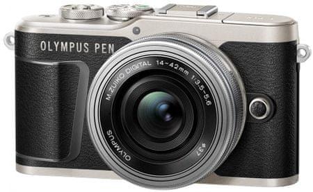 Olympus E-PL9 + 14-42 EZ Black Traveler Kit (V205092BE000TK)
