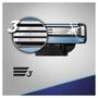 3 - Gillette Mach3 nadomestna rezila, 4 kosi