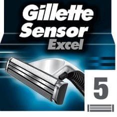 Gillette SensorExcel Hlavica k holiacemu strojčeku 5ks
