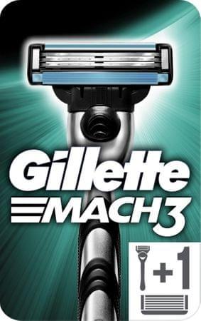 Gillette britvica Mach 3 + 2 rezervni glavi