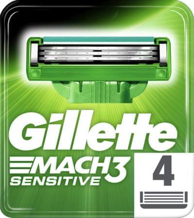 Gillette MACH3 Sensitive Borotvabetét, 4 db