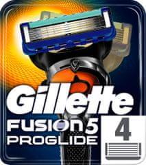 Gillette Fusion ProGlide Manual - náhradné hlavice 4 ks