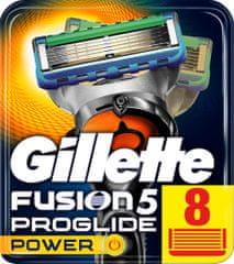 Gillette Fusion ProGlide Power - náhradné hlavice 8 ks