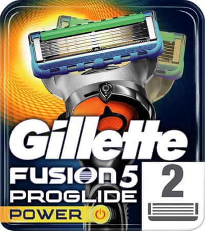 Gillette wkłady do maszynki Fusion ProGlide Power - 2 sztuki