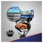 4 - Gillette Fusion ProGlide Flexball Borotva + 4fej