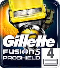 Gillette ProShield náhradné hlavice 4 ks