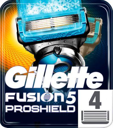 Gillette Fusion5 ProShield Chill Borotvafej 4db