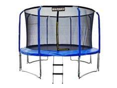 Marimex trampolina 427 cm z siatką zabezpieczającą i drabinką