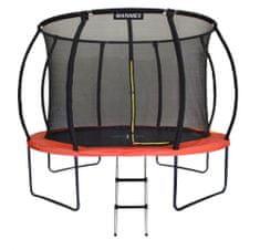 Marimex trampolin Premium z zaščitno mrežo in lestvijo, 366 cm