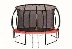 Marimex trampolin Premium z zaščitno mrežo in lestvijo, 457 cm