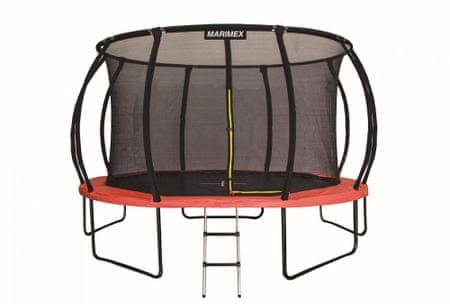 Marimex trampolina Premium 457 cm z siatką zabezpieczającą i drabinką