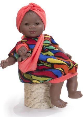 Nines Játékbaba 31261 Maria con bebe 45cm