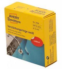 Avery Zweckform etiketa za ojačanje rupa Ø 13 mm, bijela (3508)