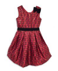 Joe and Ella haljina za djevojčice Sarah, crvena