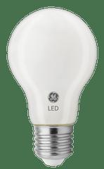 GE Lighting LED žárovka Glass, E27 8W, teplá bílá