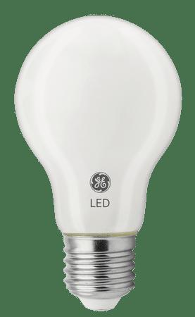 GE Lighting Glass LED izzó, E27 8W, meleg fehér