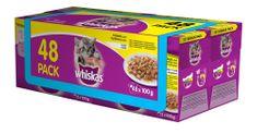 Whiskas mačja hrana u želeu Junior (48 komada), perad
