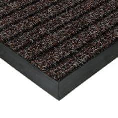FLOMAT Hnědá textilní zátěžová čistící vnitřní vstupní rohož Shakira, FLOMAT - 1,6 cm