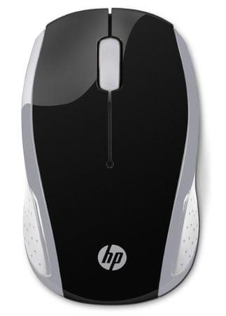 HP 200 vezeték nélküli egér, ezüst (2HU84AA)