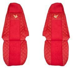 F-CORE Poťahy na sedadlá FX02, červené