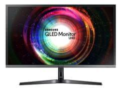 """SAMSUNG 28"""" U28H750 UHD Monitor Quantum dot technológiával (LU28H750UQUXEN)"""