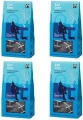 London Tea Company Fairtrade čierny čaj pyramidový London Breakfast 15ks x 4