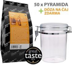 London Tea Company Fairtrade čierny čaj pyramídový vanilka s orientálnym korením Vanilla Chai 50ks