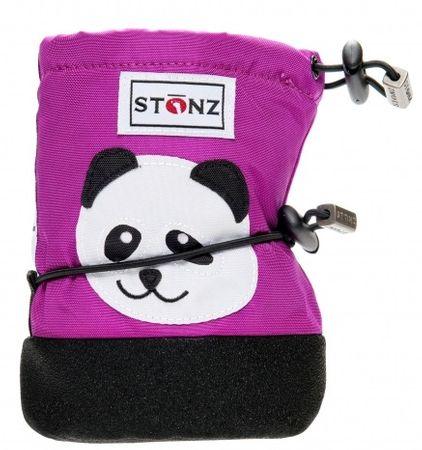 Stonz Dívčí nepromokavé capáčky/návleky/sněhule Panda 18 růžové