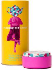 London Tea Company Fairtrade zelený čaj pyramidový s jasmínem v plechové dóze 15ks