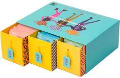 London Tea Company Fairtrade dárková sada mix sáčkových čajů TRIPLE pack 75ks 3 příchuti