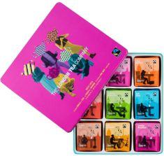 London Tea Company Fairtrade velká dárková sada mix sáčkových čajů 72 ks 9 příchutí