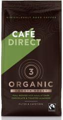 Cafédirect BIO Organic Smooth mletá káva s tónmi pražených mandlí 227g 85% Arabica, 15% Robusta